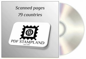 CD Stamp color pages, 79 countries
