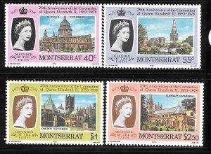 Montserrat 385-388: British Cathedrals, MH, VF