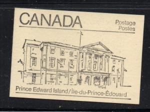 Canada Sc 940,944,945 1982  cpl booklet  USC#BK82  mint NH PEI cover