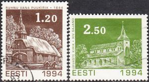 Estonia #279-280  Used