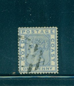 Gold Coast - Sc# 5. 1876 1p Victoria. Used. $8.00.