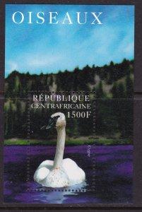 Central African Republic, Fauna, Birds MNH / 1996