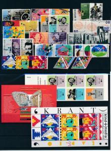 Netherlands Niederlande 1993 Year Set Complete incl. Miniature Sheets MNH