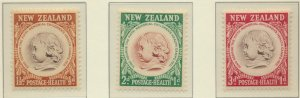 New Zealand Stamps Scott #B46 To B48, Mint Hinged
