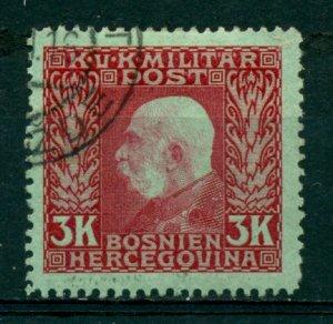 Bosnia & Herzegovina 1912 #83 U SCV(2020)=$11.00