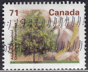 Canada 1370 USED 1995 American Chestnut Tree 71