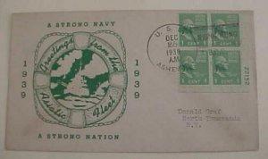HONG KONG USS  ASHVILLE  25 DEC 1939 ASIATIC FLEET CACHET CHRISTMAS DATE