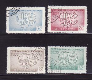 North Vietnam O17-O20 Set U World Trade Congress
