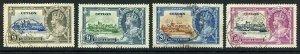 Ceylon SG379/82 1935 Silver Jubilee Set Used