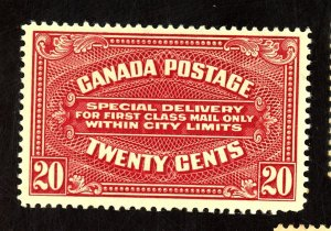 CANADA #E2 MINT FVF OG LH Cat $100
