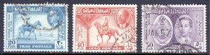 Iraq - Scott #130-132 - Used - SCV $11.00