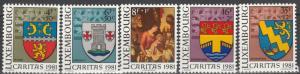 Luxembourg #B332-6  MNH  CV $4.20 (S2226)