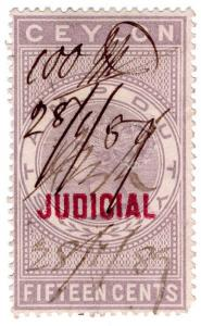 (I.B) Ceylon Revenue : Judicial 15c