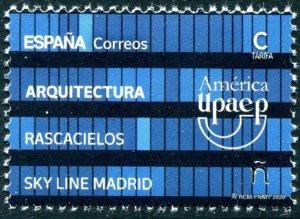 HERRICKSTAMP NEW ISSUES SPAIN UPAEP 2020 Architecture - Madrid Skyline