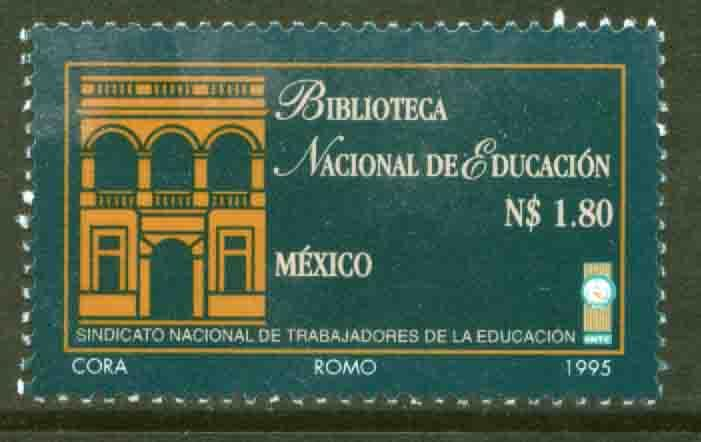 MEXICO 1948, National Library of Education. MINT, NH. VF. (69)
