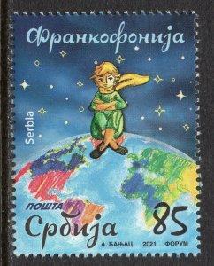 1652 - SERBIA 2021 - Francophonie - MNH Set