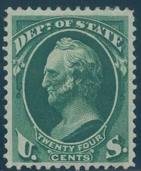 US Scott #O65 Mint, VF/XF, Hinged, PSE (Graded 85)