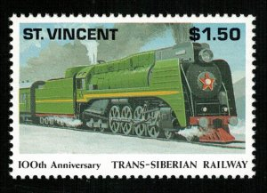 Train, 1991, Anniversaries and Events, $1.50, MNH, ** CV $ 3.56  (Т-8235)
