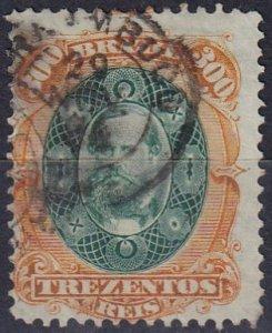Brazil #78 F-VF  Used CV $25.00  (Z7186)