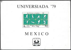 Mexico #C614 MNH Souvenir Sheet