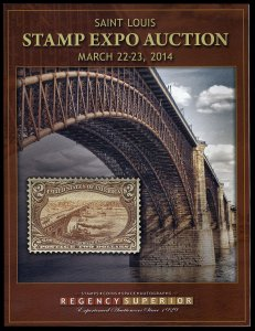 Regency Superior catalog: Saint Louis Stamp Expo March 22-23, 2014