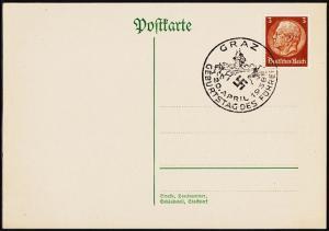 Germany. 1938 Postcard. Fine Used