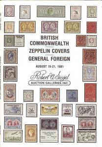 British Commonwealth; Zeppelin Covers; General Foreign, R...