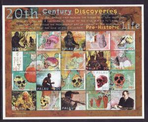 Palau-Scott#546-unused NH sheet-20th Century Discoveries-2000-
