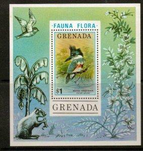 GRENADA SGMS768 1976 FLORA AND FAUNA MNH