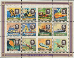 1979 Cook Islands #514-516e, Complete Set(4), Never Hinged