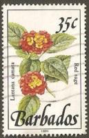 Barbados Used Sc 758a - Red Sage
