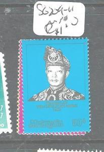 MALAYSIA (P2604B) SG 209-11  MNH