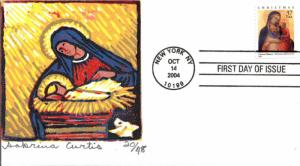 #3879 Madonna and Child S Curtis FDC