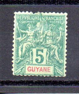 French Guiana 35 used