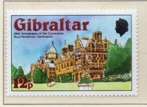 Gibraltar 1978 QEII Early Issue Fine Mint Unmounted 12p. NW-99274