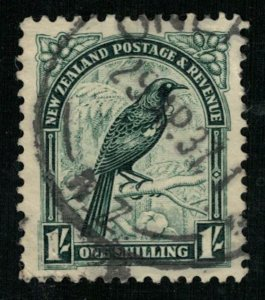 1935, Prosthemadera novaeseelandiae, 1 Shilling (T-9206)