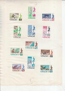 GIBRALTAR 1960 SET TO 5/-  MINT