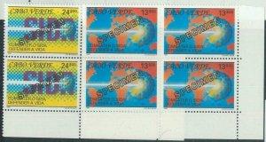 78452 - CABO VERDE - STAMPS:  Medicine AIDS  2 values MNH -  SPECIMEN  1991