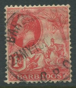 STAMP STATION PERTH Barbados #118 KGV Definitive Issue Used Wmk 3 -1912