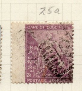 Cape of Good Hope 1864 Early Issue Fine Used 6d. 284440