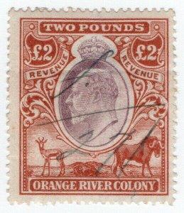 (I.B) Orange River Colony Revenue : Duty Stamp £2