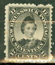 CW: Canada New Brunswick 11 mint CV $55