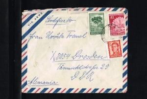Argentina Air letter - To Dresden [B06_104]