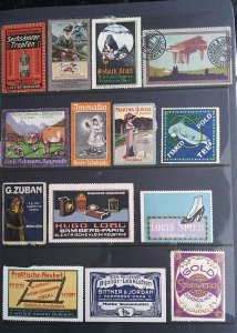 World Exhibition, Convention, Stamp Show, Poster, Label stamp Collection LOT#Q12