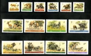 TANZANIA 161-74 MNH SCV $7.35 BIN $4.00