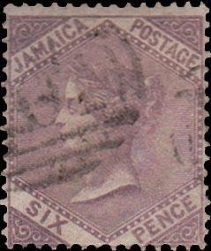 Jamaica Scott 5 Used.
