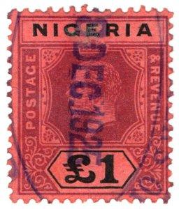 (I.B) Nigeria Revenue : Duty Stamp £1