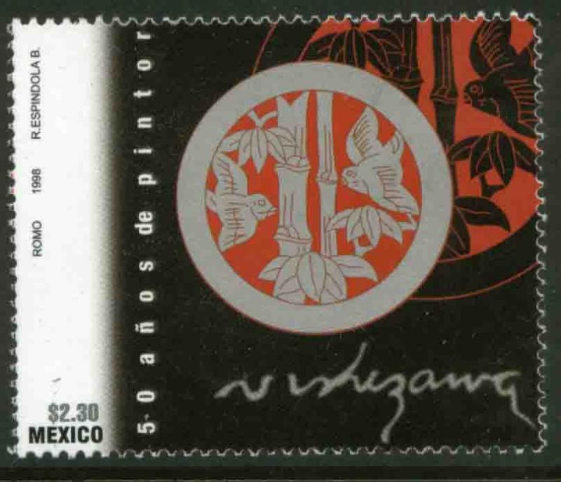 MEXICO 2096, Luis Nishizawa, 50 years of painting. MINT, NH. VF.  (69)