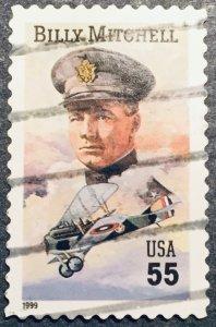 US #3330 Used Gen Billy Mitchell SCV $.30 L3