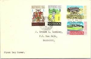 Barbados, Worldwide First Day Cover